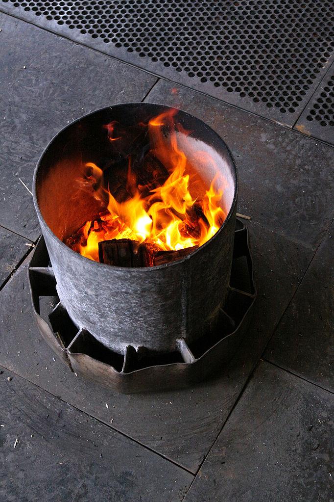 chauffage gaz exterieur