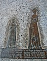 Brass of Elizabeth Etchingham and Agnes Oxenbrigg, Etchingham church.jpg