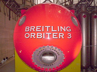 Breitling Orbiter - Image: Breitling Orbiter End