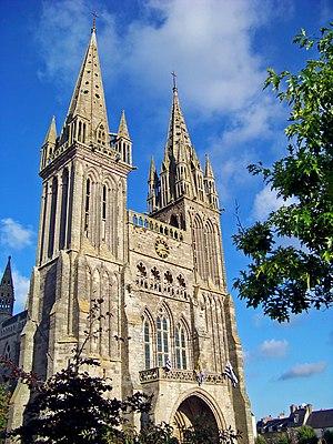 Saint-Pol-de-Léon Cathedral - Saint-Pol Cathedral: west front