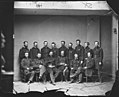 Brevet Major General William T. Ward and Staff of Fourteen. (3995256891).jpg