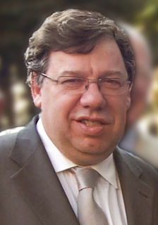 Brian Cowen Irish politician, former Taoiseach (Prime Minister)