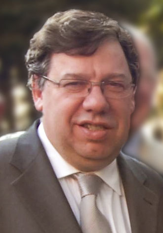 Irish local elections, 2009 - Image: Brian Cowen in Philadelphia