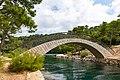 Bridge over the lake Veliko Jezero on Mljet, Croatia (48738889876).jpg