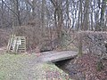 Bridleway bridge near Hoad's Wood - geograph.org.uk - 1720544.jpg