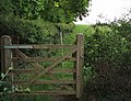 Bridleway gate - geograph.org.uk - 442512.jpg