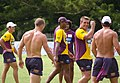 Brisbane Broncos training session (18 April 2006, Brisbane).jpg