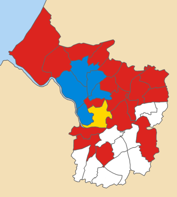 1990 local election results in Bristol