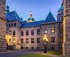 British Columbia Parliament Buildings in Victoria, British Columbia, Canada 06.jpg