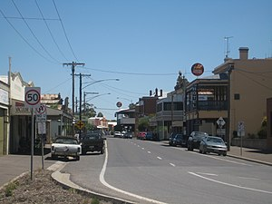 Inglewood, Victoria - Brooke Street, the town's main street