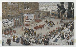 Bird's-Eye View of the Forum: Jesus Hears His Death Sentence