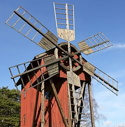Windmill in Brottby