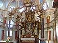 Bruderschaftskirche Prächtiger barocker Altar - panoramio.jpg