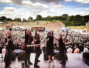 Flotsam and Jetsam (band) - Flotsam and Jetsam at the Brutal Assault Festival in 2014