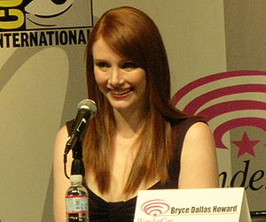 Bryce Dallas Howard participating in a Termina...