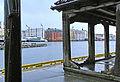 Bryggen i Bergen - Dramshusens skur og vippebommen.jpg