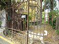 Bucuresti, Romania, Casa pe Calea Plevnei nr. 54, sect. 1 (detaliu cu caine 2) (Casa prof Nicolae Clinciu).JPG