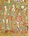 Buddha Seokgamoni (Shakyamuni) Preaching to the Assembly on Vulture Peak LACMA AC1998.268.1 (3 of 11).jpg