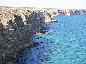 Kaliakra - Rock beach