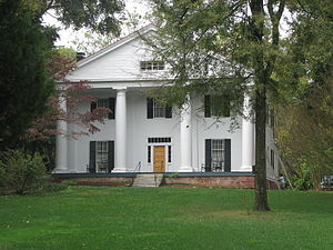 Roswell, Georgia - Bulloch Hall, built in 1839.