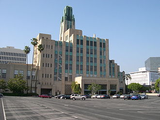 Southwestern Law School - The Bullocks Wilshire Building on the campus of the Southwestern Law School