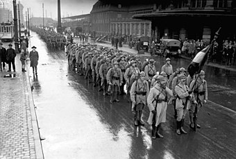 French troops leaving Dortmund