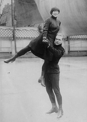 Lilly Scholz - Scholz and Kaiser at a pre-Olympic event in 1928
