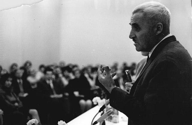 К. Симонов в Берлине. 1967 год.