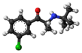 Bupropion molecule ball.png