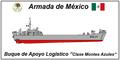 "Buque de Apoyo Logístico ""Clase Montes Azules"" armada de mexico.png"