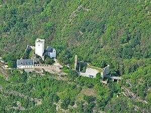 Sterrenberg Castle (Rhineland) - Image: Burg Sterrenberg