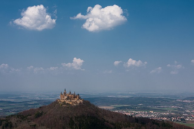 Hohenzollern Castle near Hechingen