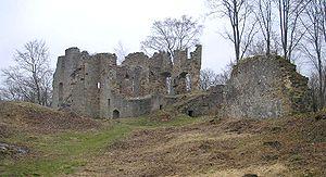 Ebern - Image: Burg Rauheneck Palas