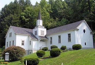 Pittman Center, Tennessee - Burnett Memorial Chapel