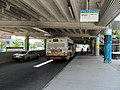 Bus in Jackson Square busway, July 2016.JPG