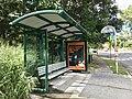 Bus stop in Kenmore West, Queensland.jpg