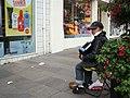 Busking, Omagh - geograph.org.uk - 534075.jpg