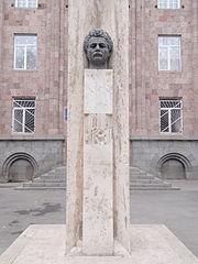 Bust of Aghasi Khanjyan