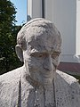 Bust of Ioannes Paulus II, Tósokberénd, 2019 Ajka.jpg