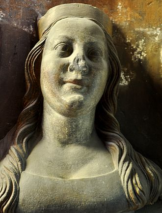 Anne of Bavaria - Image: Busta Anna Falcká detail