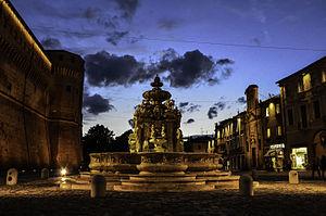 Romagna - Piazza del Popolo in Cesena