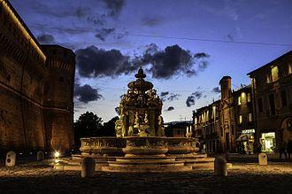 Province of Forlì-Cesena - Piazza del Popolo in Cesena.