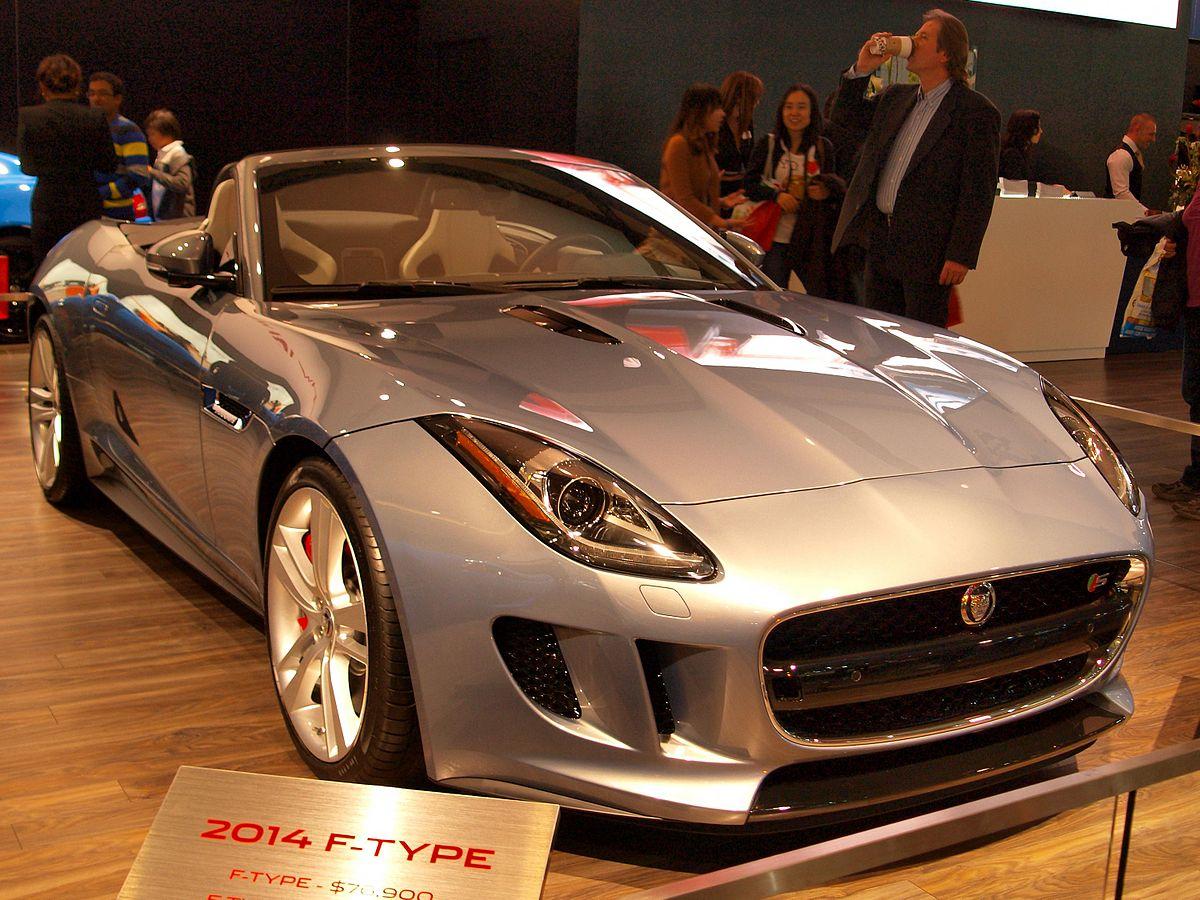 Jaguar F Type Convertible >> Jaguar F Type Wikipedia