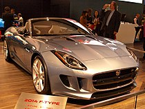CIAS 2013 - 2014 Jaguar F-Type Convertible (8514795962).jpg