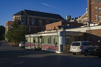Hyde Park campus of the Culinary Institute of America - The 1950s diner operated as Campus Safety
