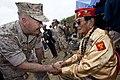 CMC and SMMC at Iwo Jima 150321-M-SA716-305.jpg