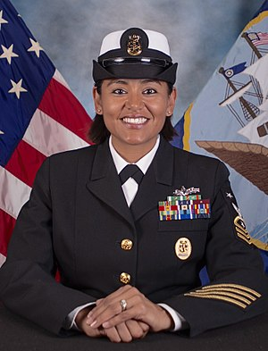 USS Wayne E. Meyer - Image: CMDCM (SW) Veronica Holliday, USN
