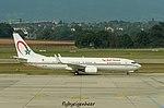 CN-MVI Boeing B737-8KB BBJ2 - Maroco Government (29927848466).jpg