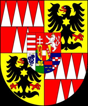 Archduke Rudolf of Austria (1788–1831) - Image: COA cardinal AT Habsburg Lothringen Rudolf Johannes