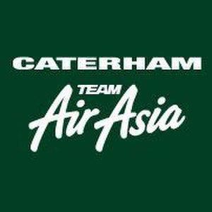 Caterham Racing (GP2 team) - The Caterham Team AirAsia logo as used by the team during the 2011 season.